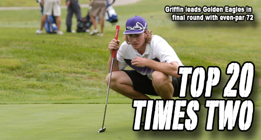 Griffin takes 10th place with final-round 72 at APSU Intercollegiate
