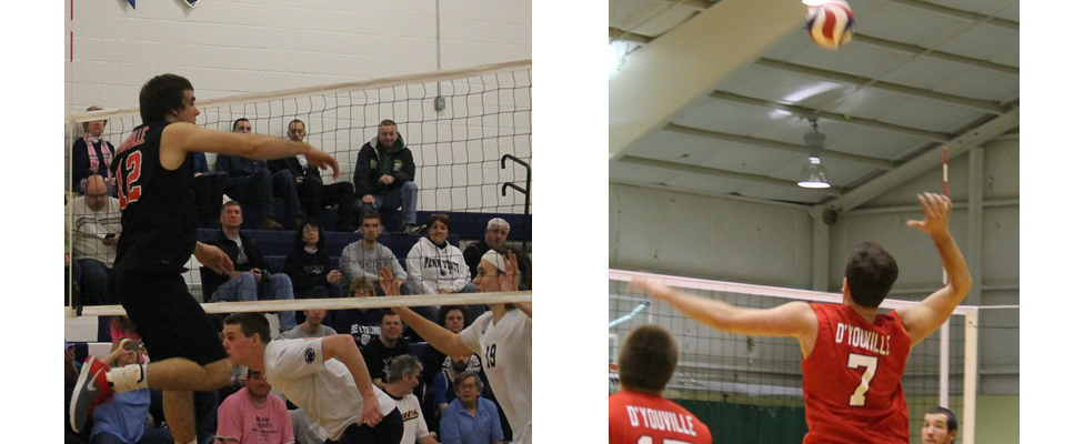 Men's Volleyball Sweeps Penn St.-Altoona, Loses to Hilbert in Final Home Date