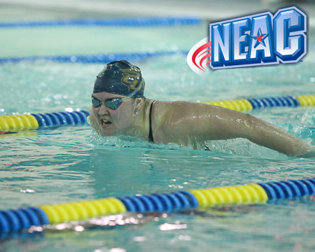 Polivanchuk selected as NEAC Women's Swimmer Student-Athlete of the Week