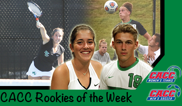 Lorne Bickley and Begona Gomar Honored with CACC Rookie of the Week Awards