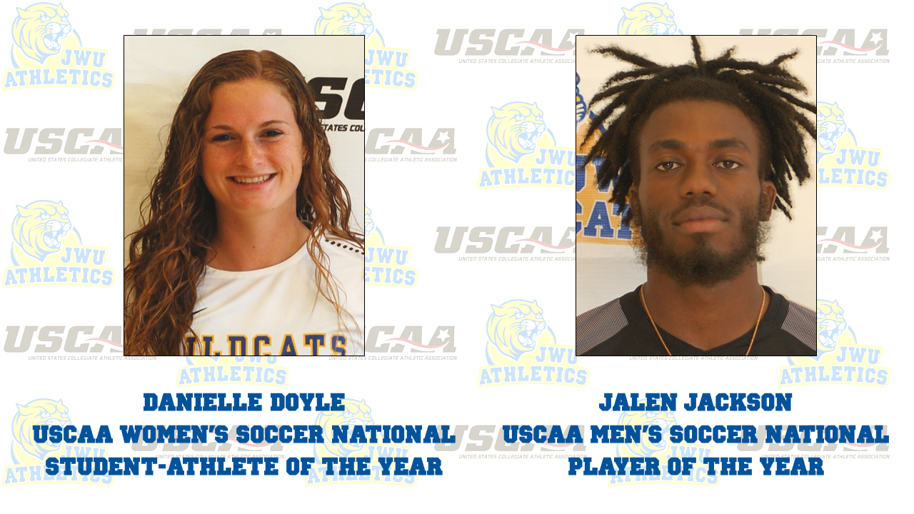 Sixteen JWU Student-Athletes Recognized at the USCAA Fall Sports Banquet; Doyle & Jackson Take Home Major Awards