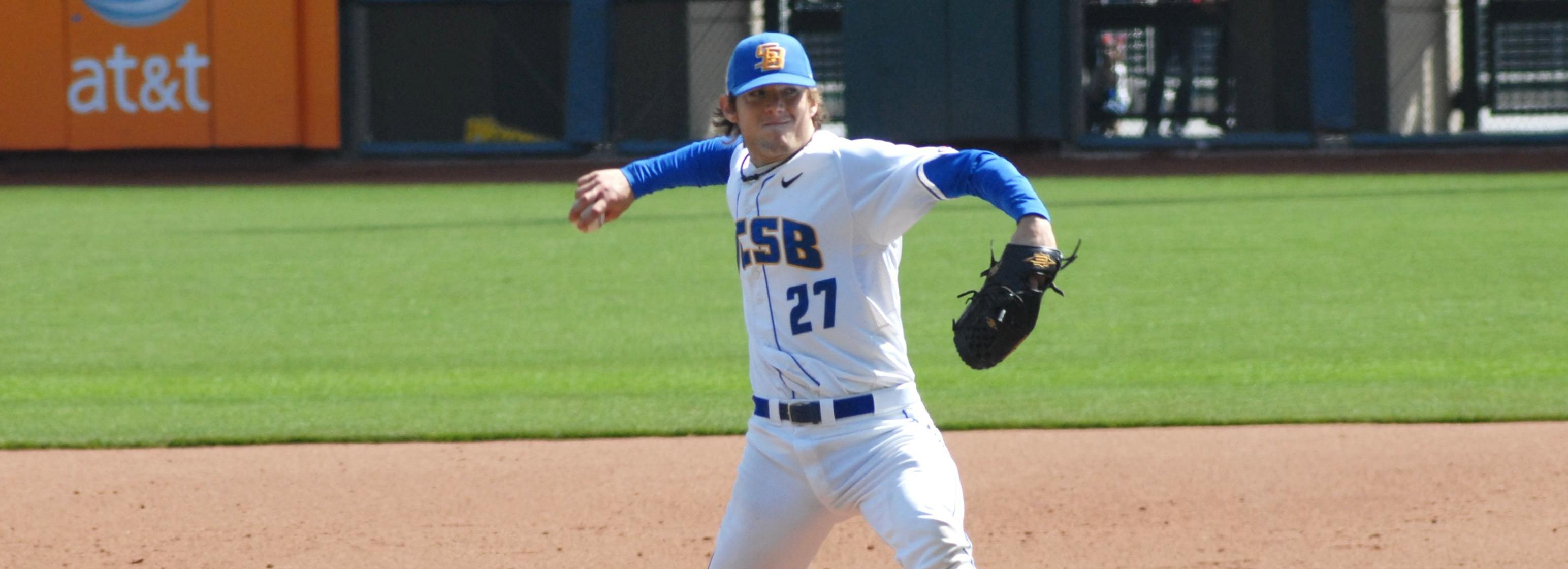 Vedo Flirts With No-No, Helps Gauchos to Second Straight Shutout of UC Davis, 1-0