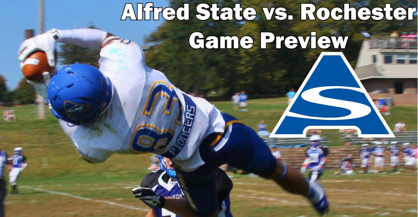 Alfred State Tangles With U of Rochester Saturday