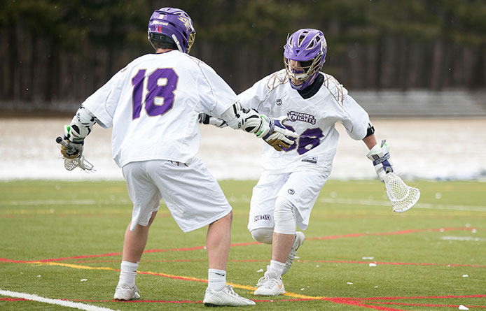 Loughlin's seven points pace Saint Michael's during season-opening victory