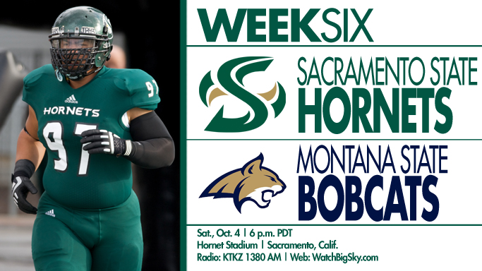 FOOTBALL HOSTS MONTANA STATE ON SATURDAY
