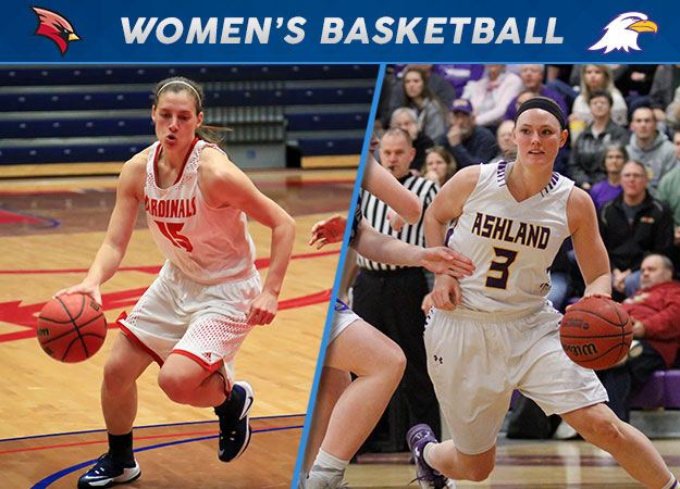 Saginaw Valley's Carriere, Ashland's Snyder Collect GLIAC Hoops Weekly Honors