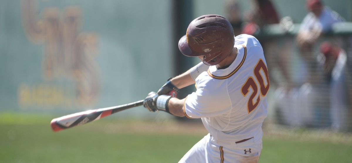 19-run offensive onslaught puts Stags past Wesleyan