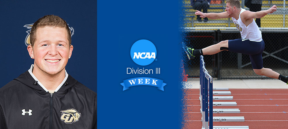 Division III Week Student-Althete Spotlight: In My Own Words by John Isaacson