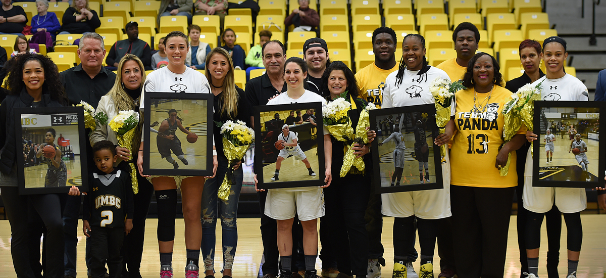 Retrievers Rally, But Fall Short in 65-61 Loss to New Hampshire on Senior Day