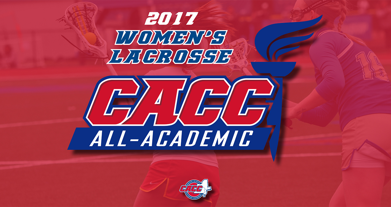 35 Student-Athletes Earn Spot on 2017 CACC Women's Lacrosse All-Academic Team