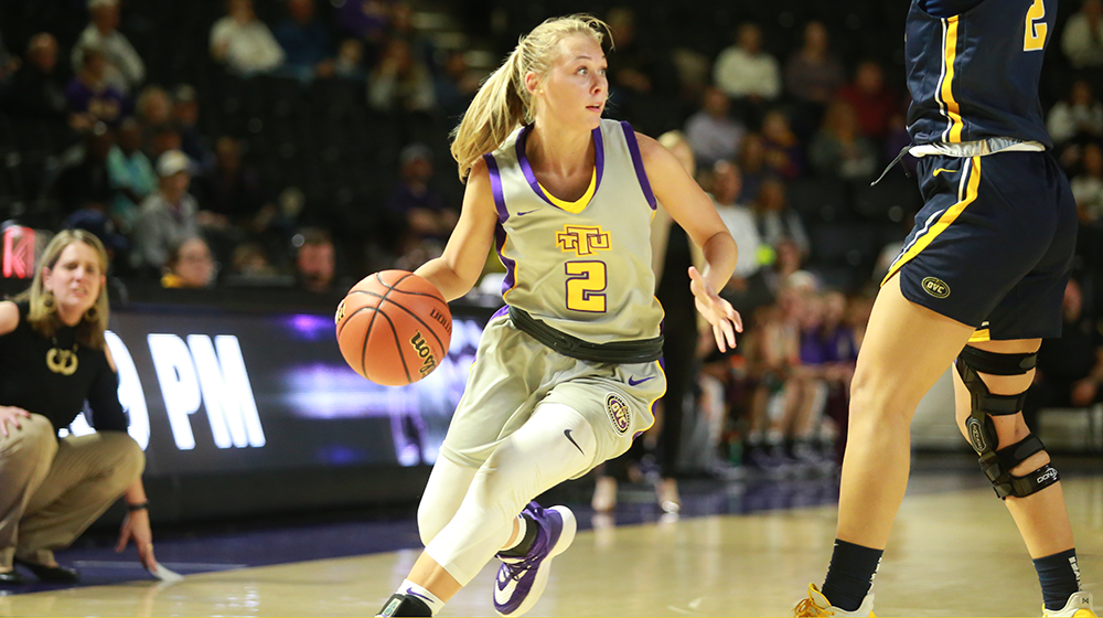 Five Golden Eagles score double-figures to fend off Murray State and remain perfect in conference play