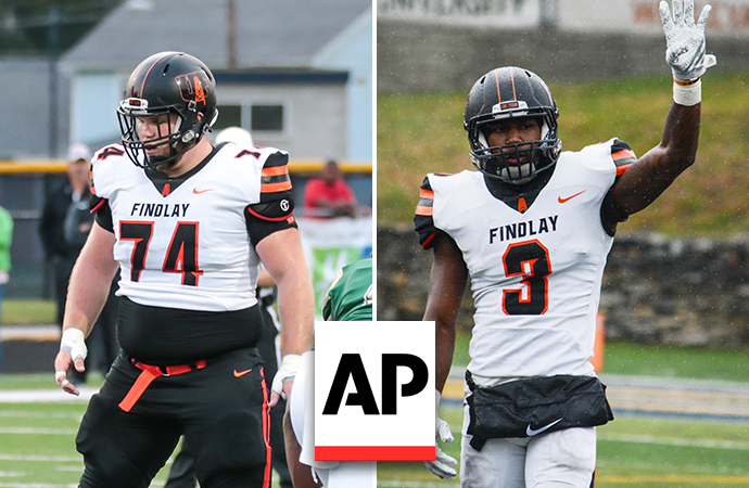 Alten and Ivory Earn Associated Press All-American