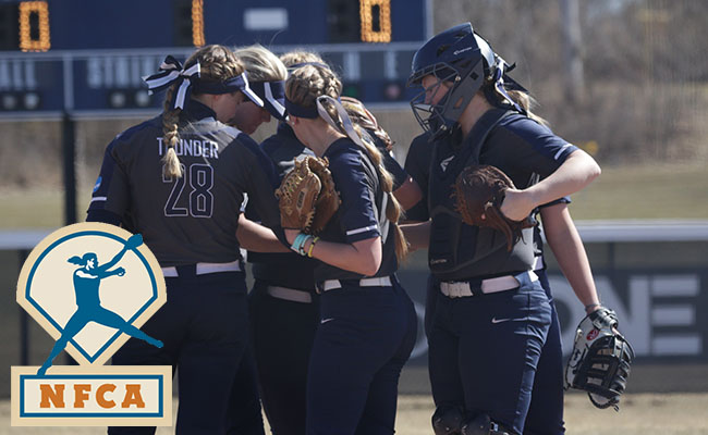 Thunder Climb into Tie for Sixth in Latest NFCA Poll