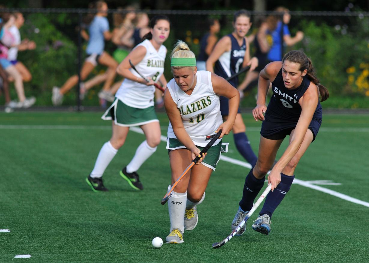 Field Hockey Bests Rivier University, 3-2 in Penalty Shootout