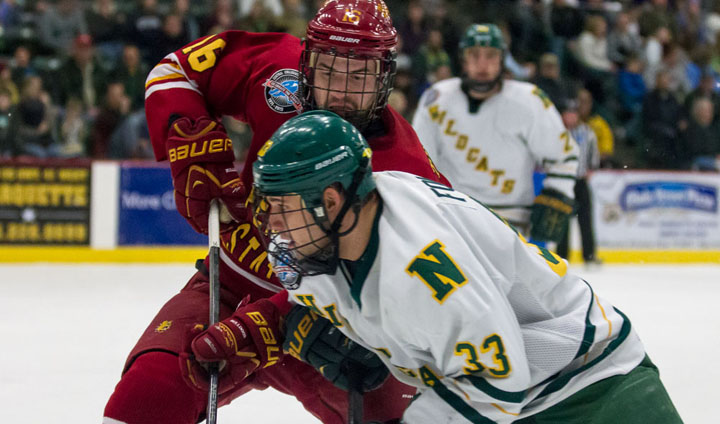 Bulldog Hockey Posts CCHA Road Win Over NMU In Series Opener