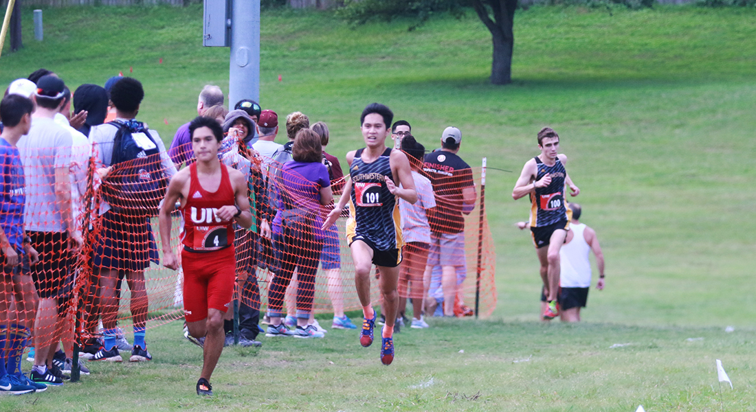 Men's Cross-Country Team Finishes 5th Overall
