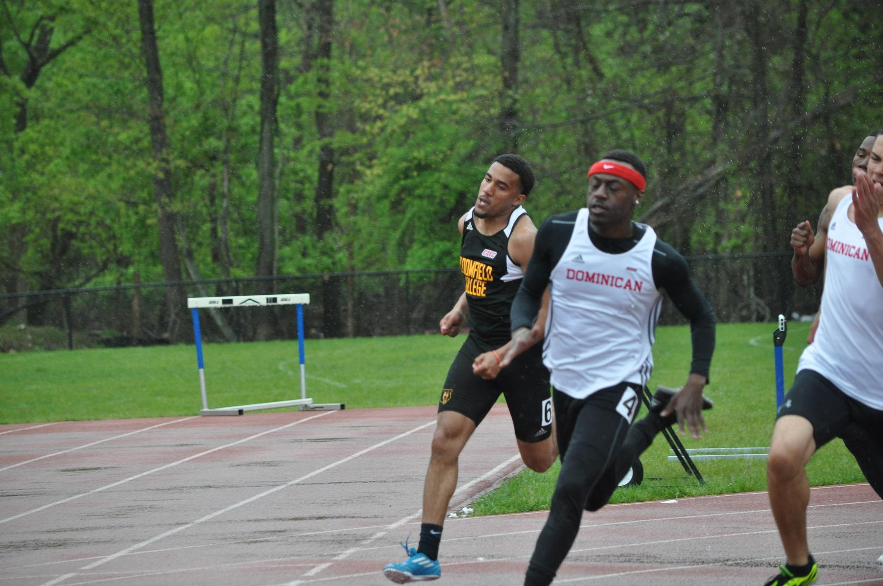 WILSON WINS 100M DASH AT RIDER INVITATIONAL