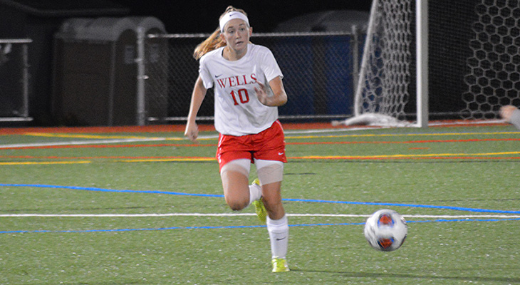 Overtime Win For Wells Women's Soccer