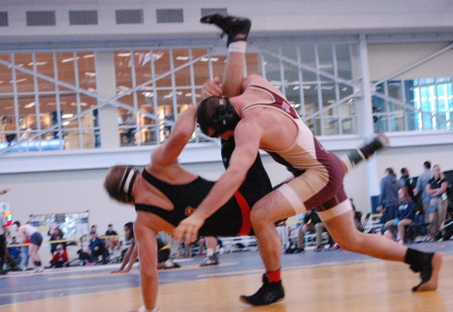 Wrestling: Cadets take down Panthers at home, 48-9
