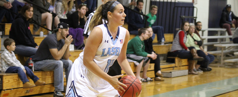 Late Push Sends Cadets over Women's Hoops 49-40