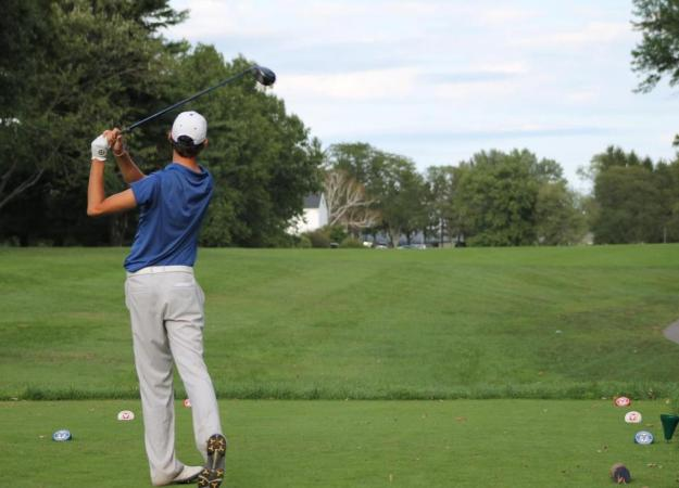 Men's Golf Second at Shelter Harbor