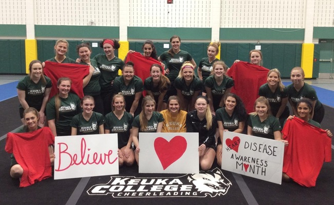 KC Cheer to Raise Money for the American Heart Association