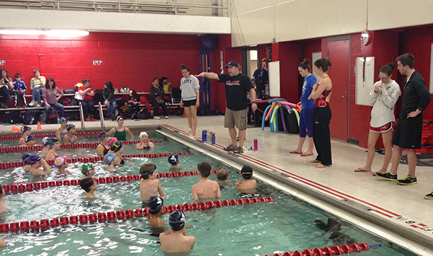 Swimming & Diving Hosts Annual Youth Clinic