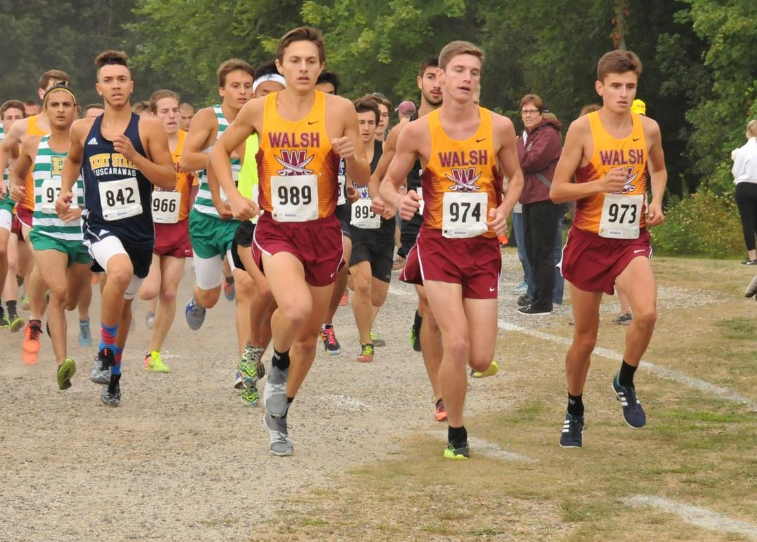 Men's XC Top G-MAC Team In Conference Crossover