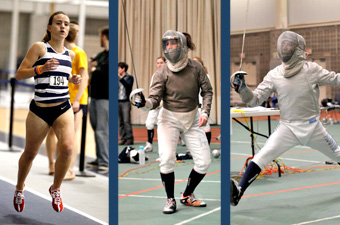 Brandeis earns three UAA Athlete of the Week honors, Jan. 25