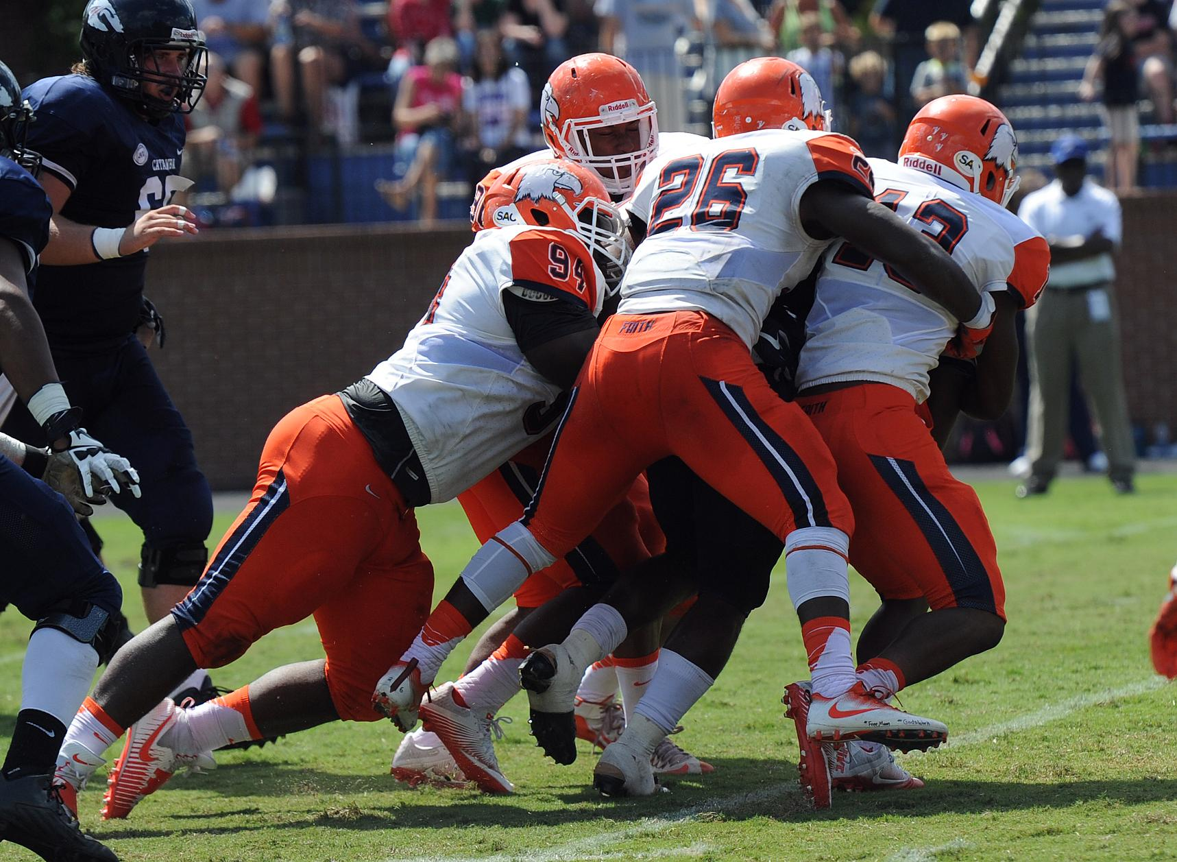 No. 23 Catawba invades The Creek for SAC clash with Carson-Newman