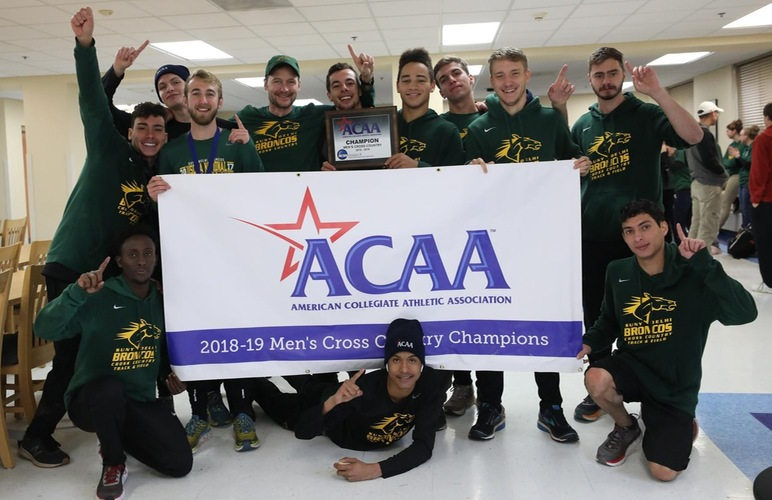 Men Take Nine of Top Ten for Third Straight ACAA Title; Lane Three-Peats as Individual Champion