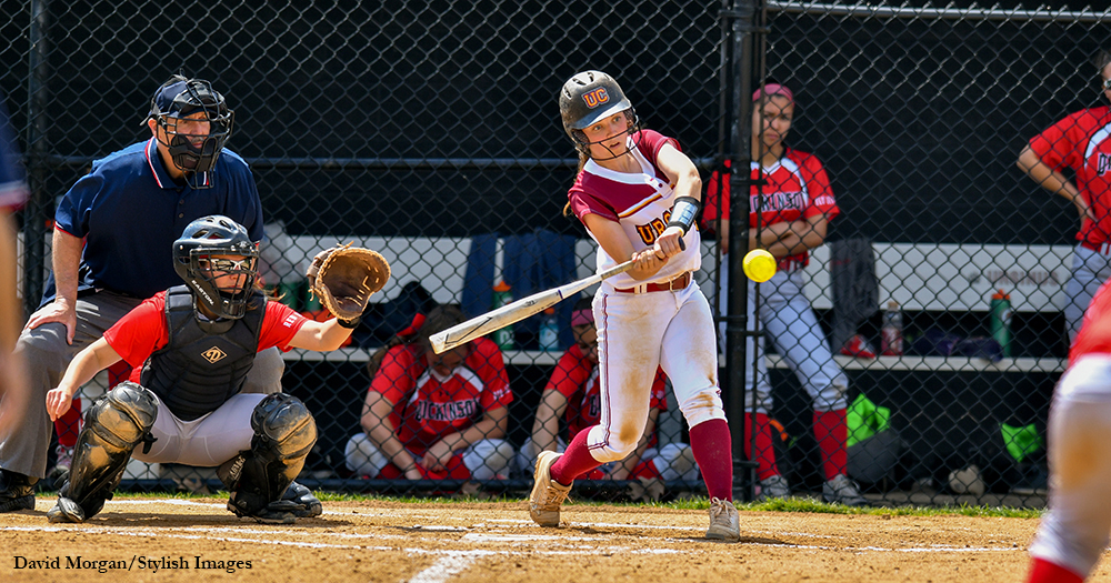 Quinn Notches 100th Hit as Softball Rallies Past Rams