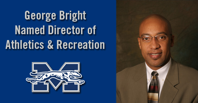 Moravian Names George Bright Director of Athletics & Recreation