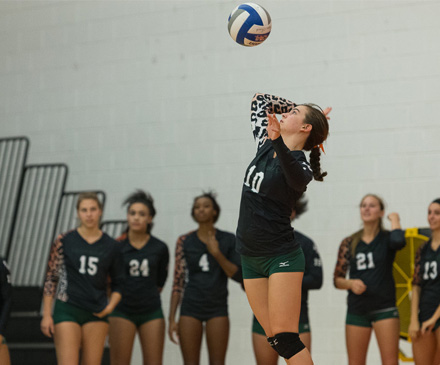 Volleyball Overwhelms Caltech