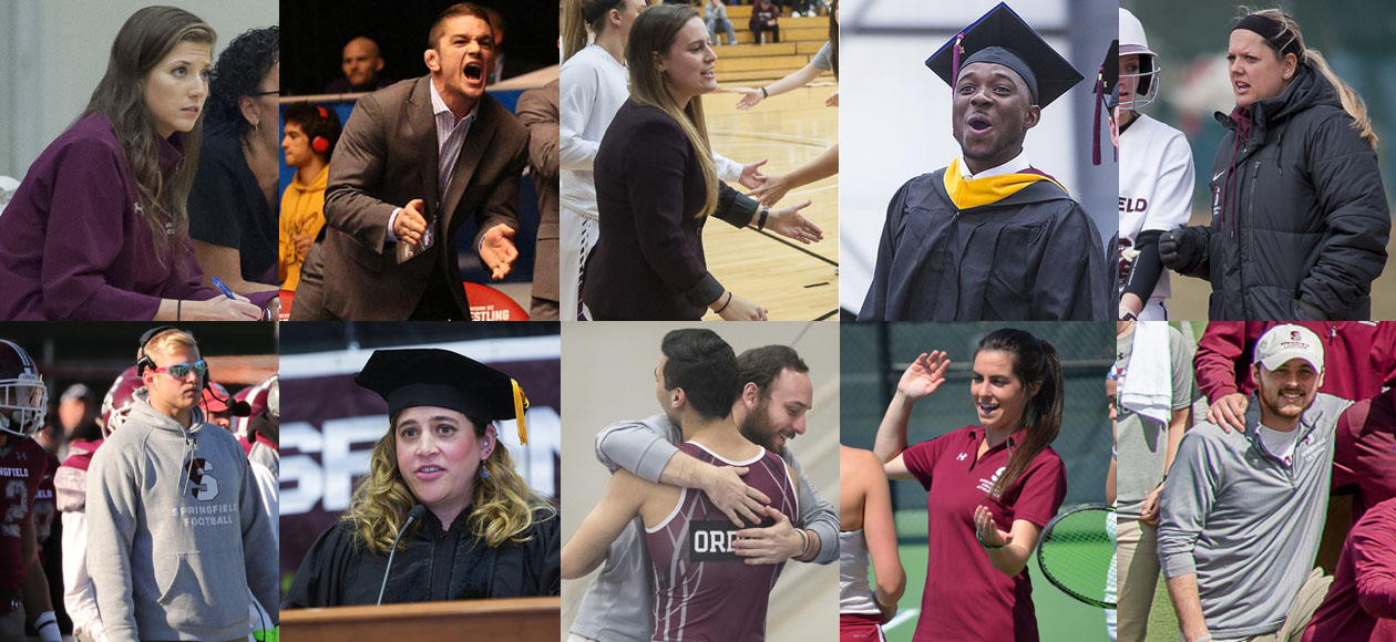 Springfield College Athletics Graduate Assistants Land Jobs For Upcoming Year