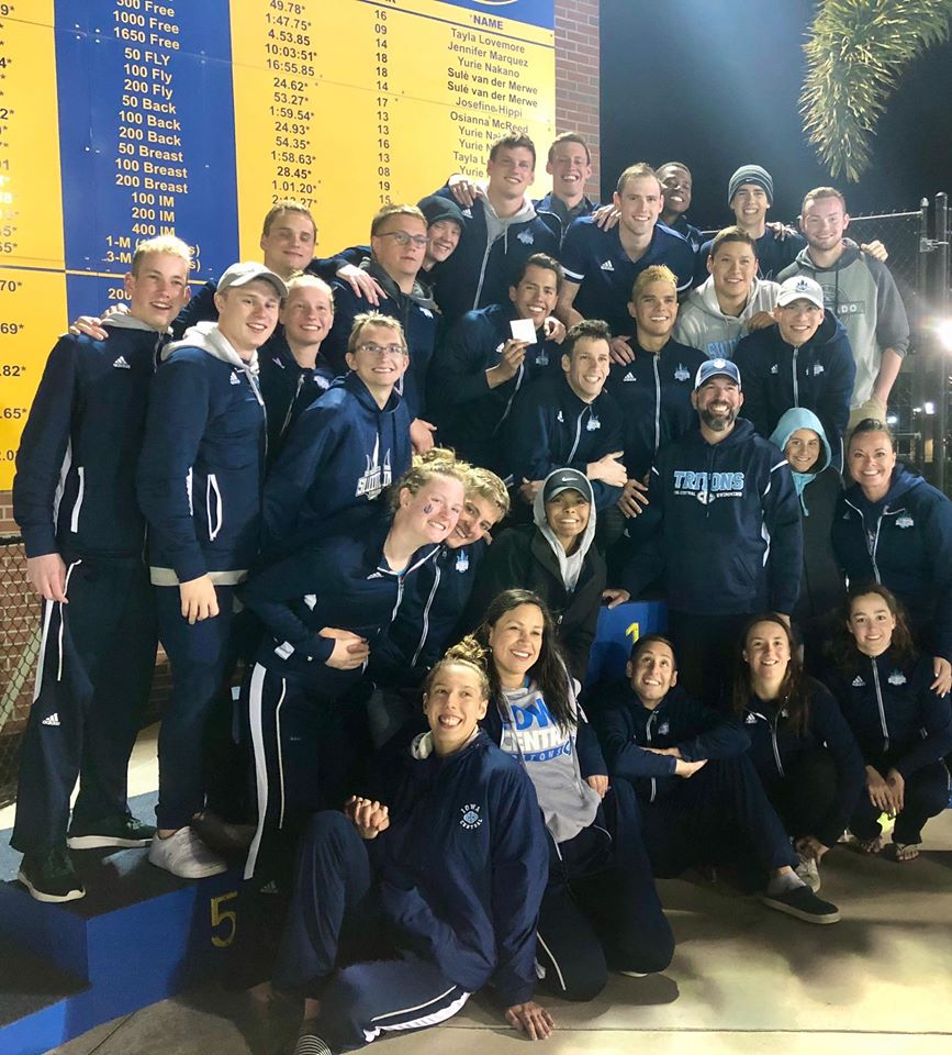 Tritons cap off banner year at nationals
