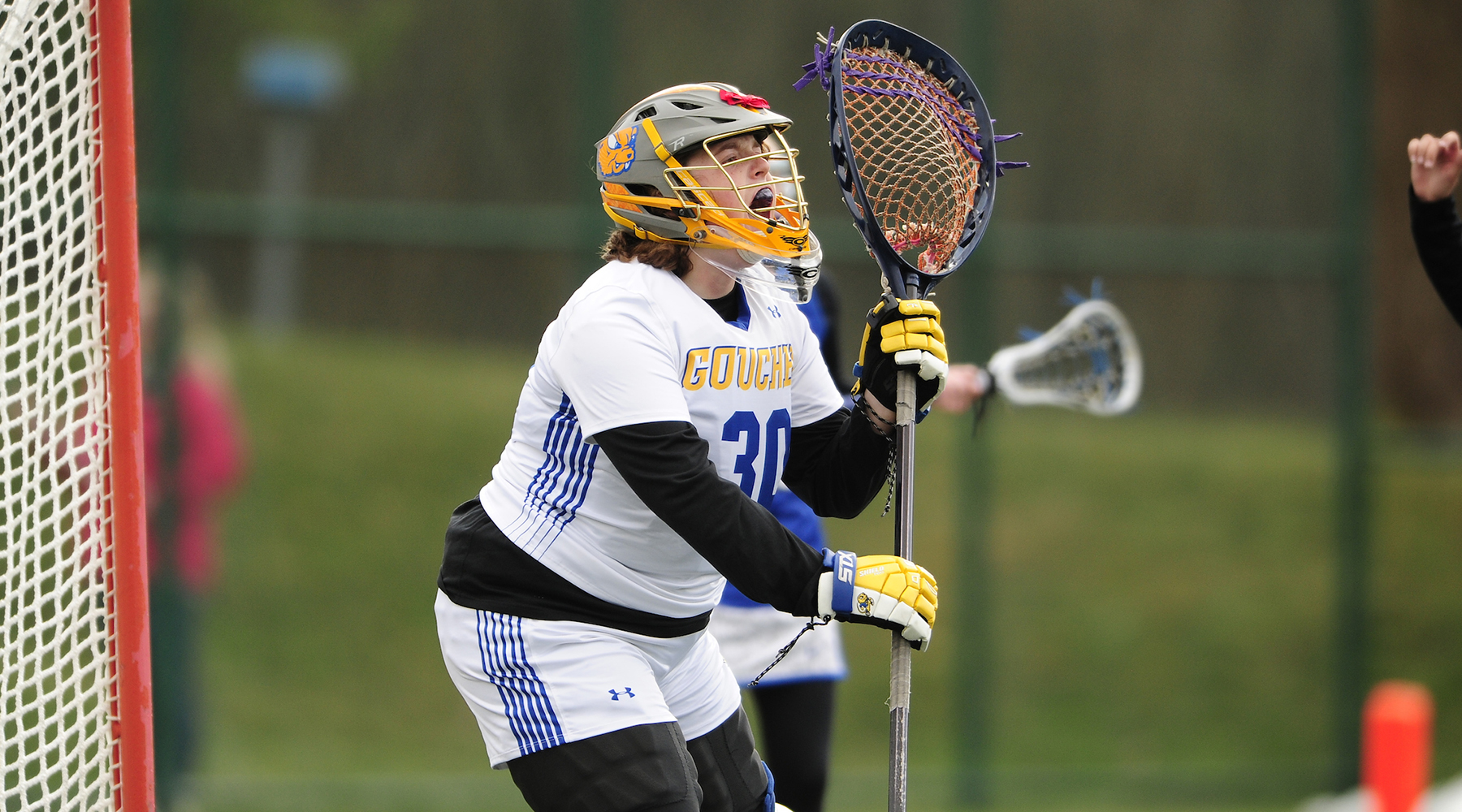 Women's Lacrosse's Den Boer Matches Saves Record in Defeat to Susquehanna