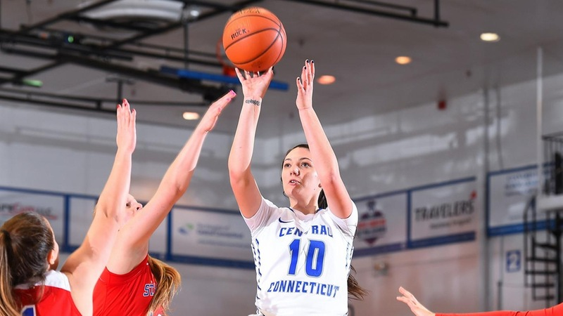 Four Blue Devils Score in Double Figures, Women's Basketball Edged by St. Francis Brooklyn