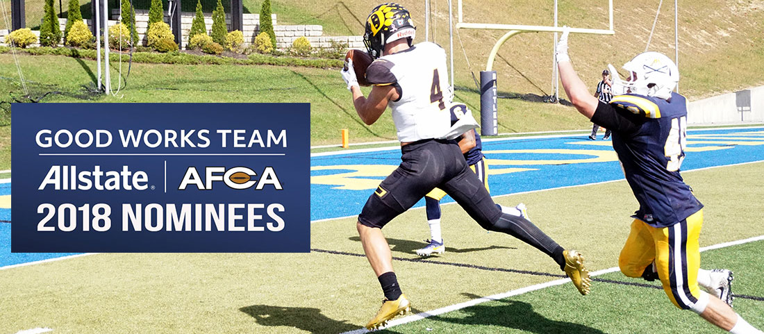 Contini Nominated For AFCA Good Works Team