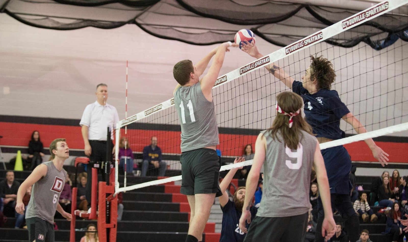 Men's Volleyball Loses First Conference Match