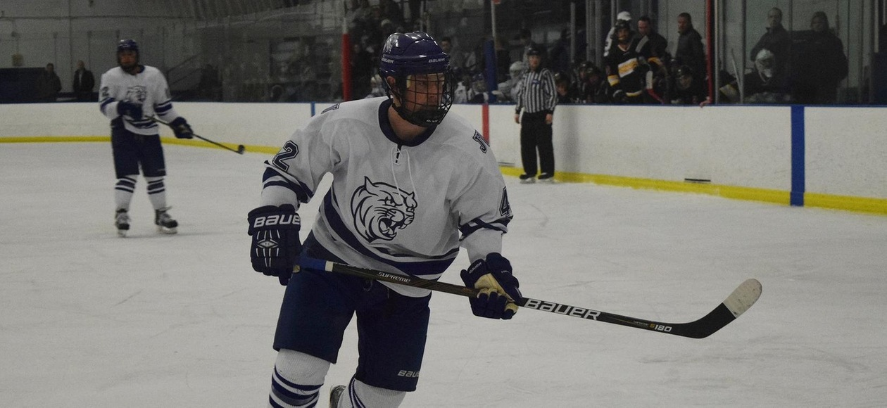 Men's Hockey Falls 3-1 at SUNY Canton