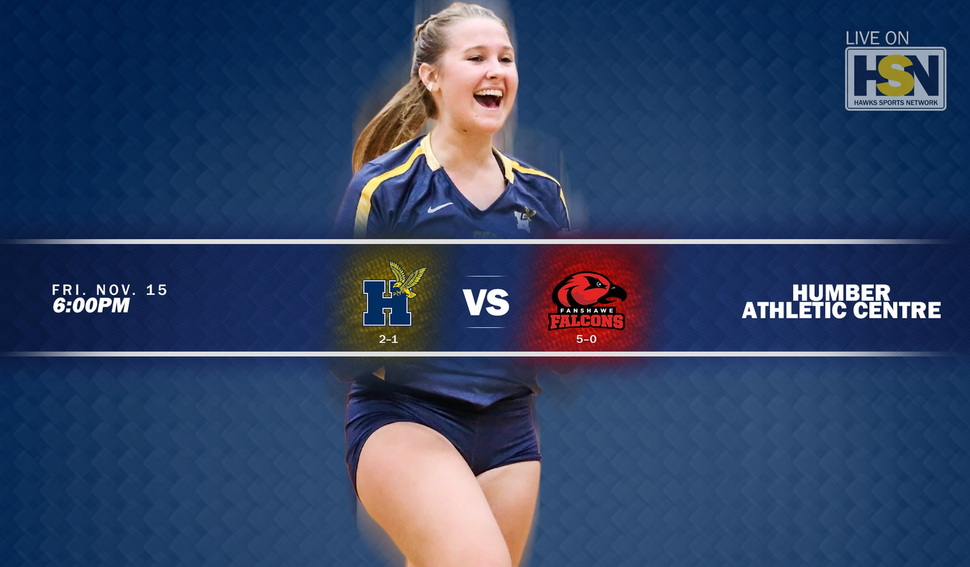 Women's Volleyball Welcomes No. 4 Fanshawe Friday