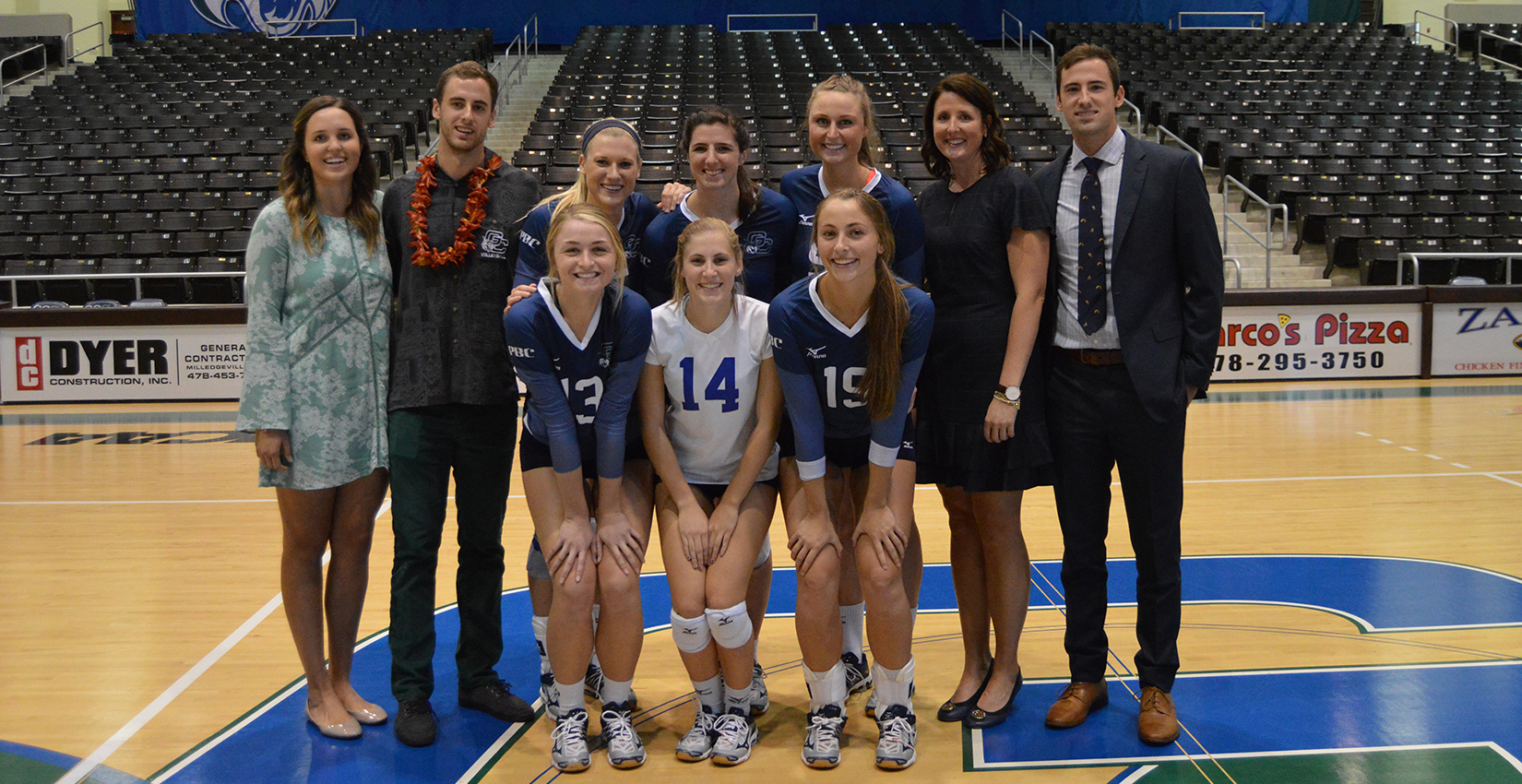 GC Volleyball Stays in Top-Five After Senior Day Loss
