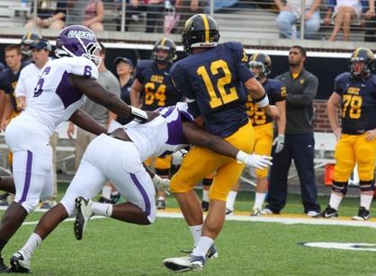 Mount Union was the nation's No. 2 ranked defense a year (Photo by JT Higgins)