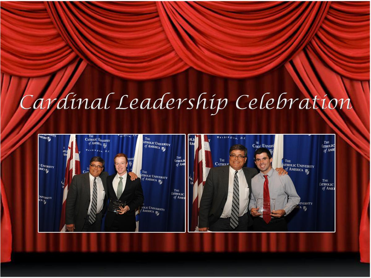 McFarland, Van Gieson Receive Honors at Cardinal Leadership Celebration