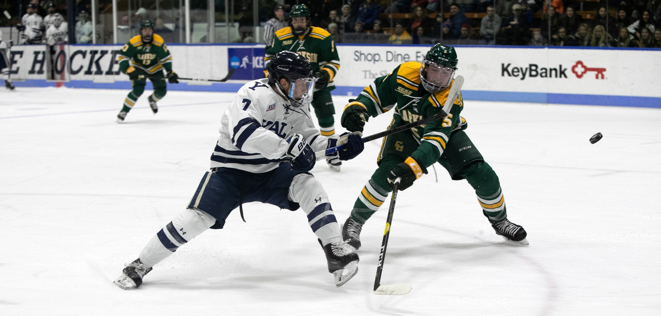 Bulldogs at Clarkson in ECAC Quarterfinals