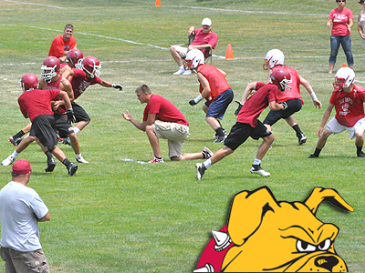 Bulldog Football Camps A Success This Summer!