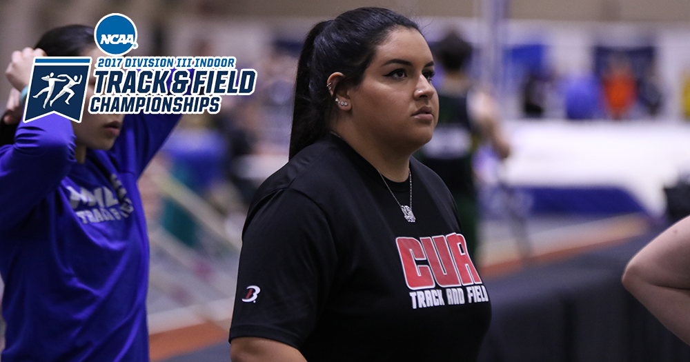 Galeano Competes at NCAA DIII Indoor Track & Field Championships