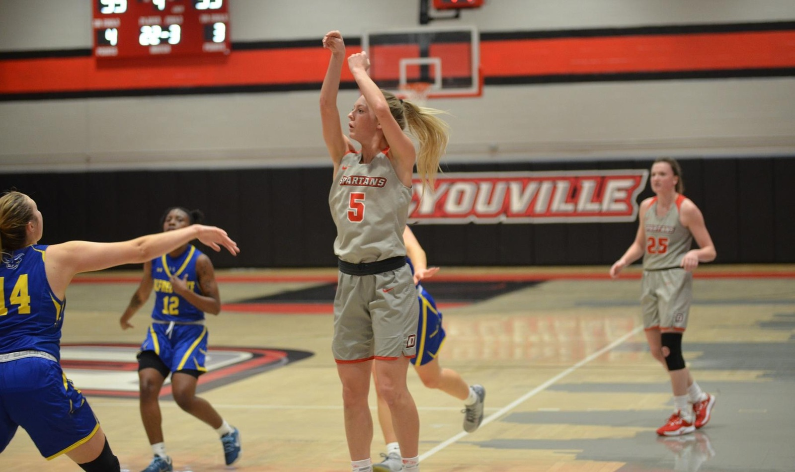 Huge Fourth Quarter Puts D'Youville over Alfred State