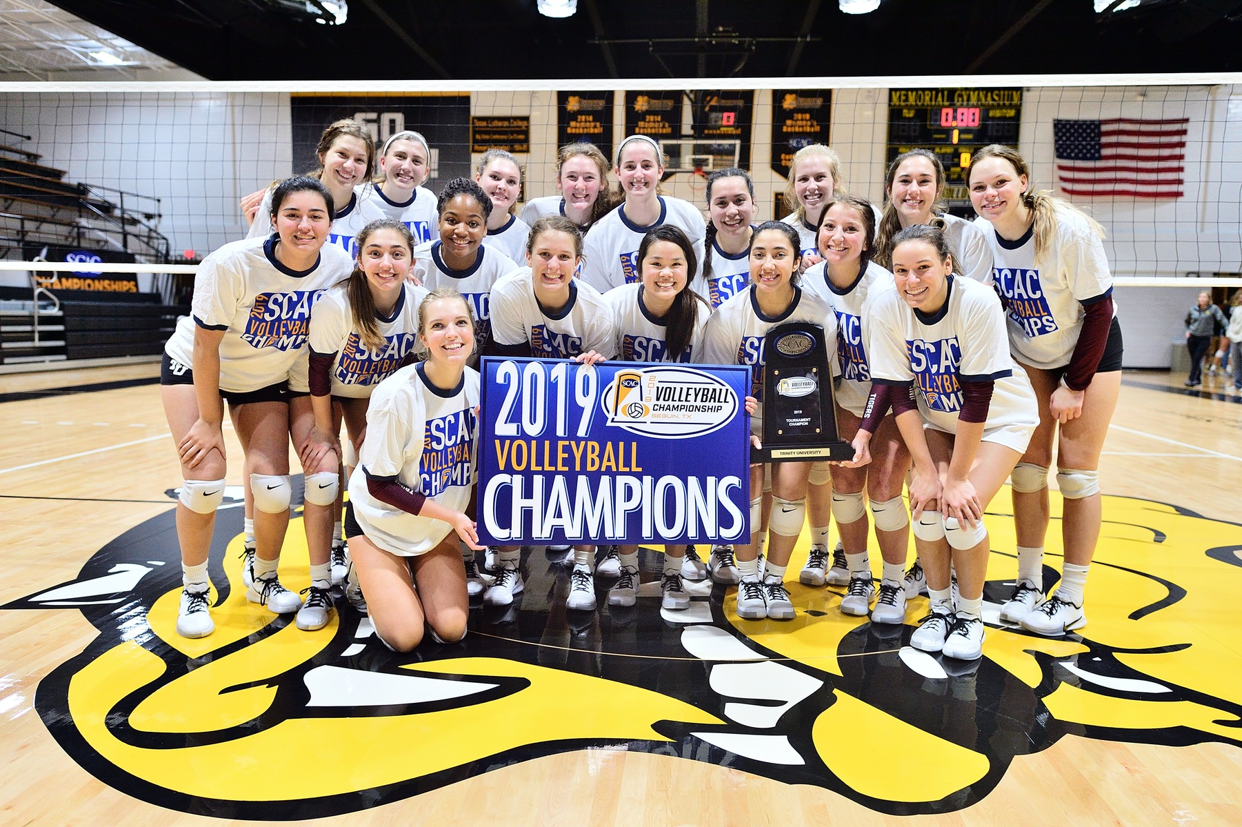 #7 Trinity Volleyball Defeats #8 Colorado College in SCAC Championships
